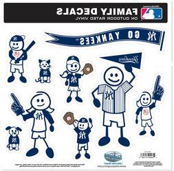 MLB Family Decal Set