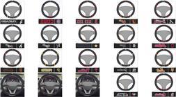 """MLB Steering Wheel Cover 15""""x15"""" Boston Yankees Mets Cubs Ph"""