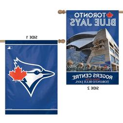"MLB Toronto Blue Jays 2 Sided Vertical Flag, 28 x 40"""