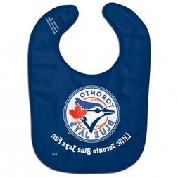 MLB Toronto Blue Jays Baby Infant ALL PRO BIB LITTLE FAN Blu