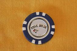 MLB, Toronto Blue Jays, Baseball, Golf Ball Marker Poker Chi