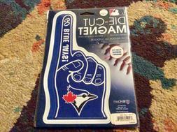 MLB Toronto Blue Jays Die Cut #1 Finger Logo Magnet