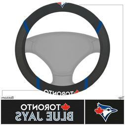 Fanmats MLB Toronto Blue Jays Embroidered Steering Wheel Cov