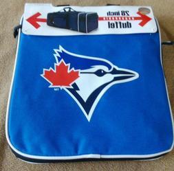 """MLB  Blue Jays Expandable Duffle Bag Travel Luggage  28"""""""