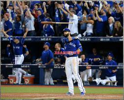 MLB Toronto Blue Jays José Batista Famous Bat Flip Color 8