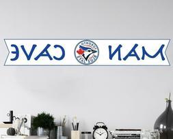 MLB Toronto Blue Jays Logo Wall Decal Sport Baseball Man Cav