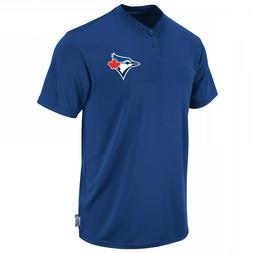 Toronto Blue Jays Boys Majestic Youth Cool Base 2 Button Rep