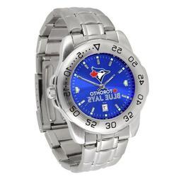 MLB Toronto Blue Jays Men's Sport Steel Watch