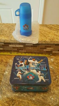 MLB Toronto Blue Jays Metal Lunch Box With Thermos 2002 Prom