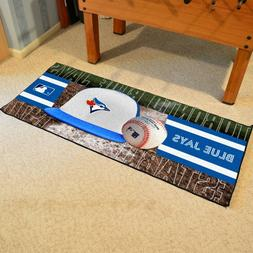 FANMATS MLB Toronto Blue Jays Nylon Face Football Field Runn