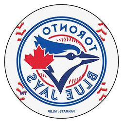FANMATS MLB Toronto Blue Jays Nylon Face Baseball Rug