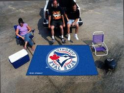 FANMATS MLB Toronto Blue Jays Nylon Face Ultimat Rug