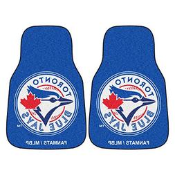 FANMATS MLB Toronto Blue Jays Nylon Face Carpet Car Mat