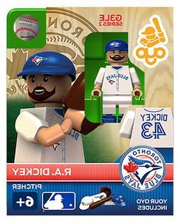 MLB Toronto Blue Jays R.A. Dickey Generation 3 Toy Figure NE