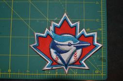 MLB Toronto Blue Jays Red Leaf Logo Throwback Baseball Jerse