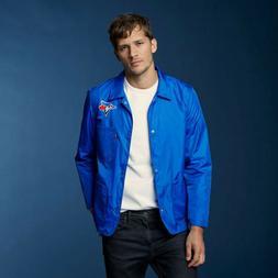 New Levi's MLB Toronto Blue Jays Club Coat Nylon Snap Jacket
