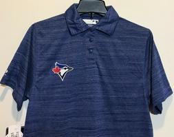New Toronto Blue Jays Men's Polo Dress Shirt Light Blue Colo