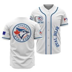 Personalized Toronto Blue Jays Baseball Jersey Custom Name S