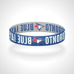 Reversible Toronto Blue Jays Bracelet Wristband Go Jays Let'