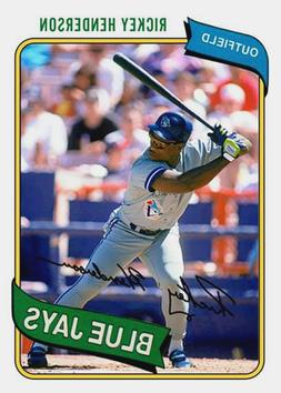 RICKEY HENDERSON 80 BLUE JAYS ART CARD ### BUY 5 GET 1 FREE