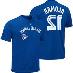 Roberto Alomar #12 Toronto Blue Jays Majestic Men's Blue Nam