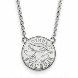 SS MLB  Toronto Blue Jays Large Logo Pendant w/Necklace