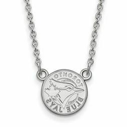 SS MLB  Toronto Blue Jays Small Logo Pendant w/Necklace