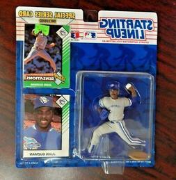Starting Lineup 1993 Figure and Card Juan Guzman Toronto Blu
