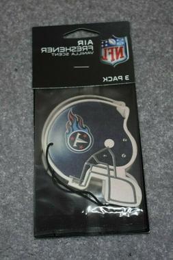 TENNESSEE TITANS NFL FOOTBALL 3-PACK AIR FRESHENER VANILLA S