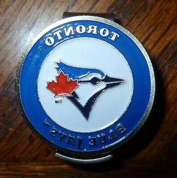"Toronto Blue Jays 1"" MLB Golf Ball Marker 2 Sided Ball Marke"