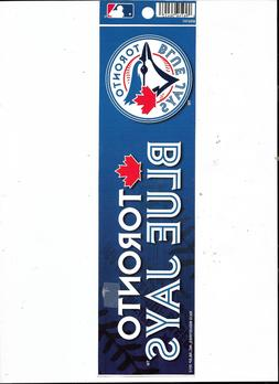 "TORONTO BLUE JAYS 11.5"" X 3"" OFFICIALLY LICENSED MLB  VYNL B"