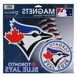"WinCraft Toronto Blue Jays 11"" X 11"" 3-pack Car Magnets"