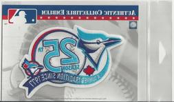 Toronto Blue Jays 25th Anniversary Sleeve Patch Official MLB