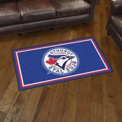 Toronto Blue Jays 3' X 5' Decorative Ultra Plush Carpet Area
