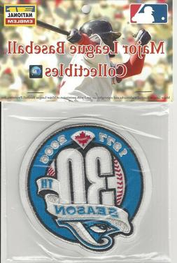 Toronto Blue Jays 30th Anniversary Sleeve Patch Official MLB