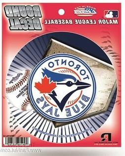 "Toronto Blue Jays 4"" Round Flat Decal Bumper Sticker Emblem"