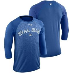Toronto Blue Jays Nike Authentic Collection 3/4-Sleeve T-Shi