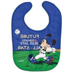 Toronto Blue Jays Baby Bib Disney Mickey Mouse Feeding Infan