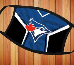 Toronto Blue Jays Baseball Cloth Face Mask Soft, Cozy & Brea