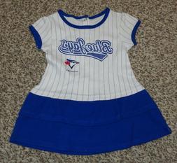 Team Athletics Toronto Blue Jays Baseball Dress Baby Girls S