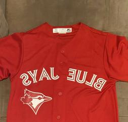 Toronto Blue Jays Canada Day Cool Base Jersey Men's Small