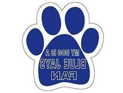* Toronto Blue Jays Car Magnet My Dog Is A Blue Jays Fan Ani