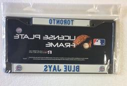 Toronto Blue Jays Chrome/Metal Auto Tag License Plate Frame