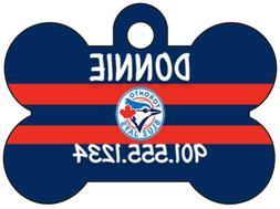 Toronto Blue Jays Custom Pet Id Dog Tag Personalized w/ Name