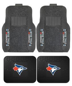Toronto Blue Jays Deluxe Auto Floor Mats - Car, Truck, SUV