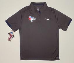 Toronto Blue Jays Nike Dri-FIT Anthracite Authentic Performa