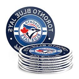 Toronto Blue Jays Eight Pack Coaster Set