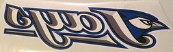 "Toronto Blue Jays FATHEAD ""Jays"" Team Logo 27"" x 8"" MLB Wall"
