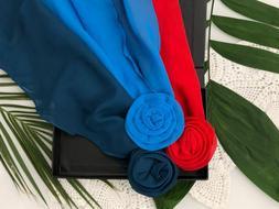 Toronto Blue Jays Flower Clip Scarf woman belt headband neck