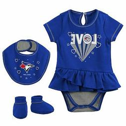 Toronto Blue Jays Girls Newborn & Infant Play Your Best Body
